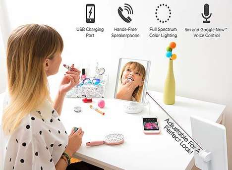 Technology Packed Vanity Mirrors