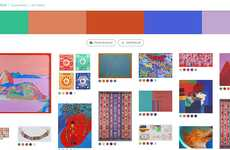 Palette-Based Art Discovery Apps