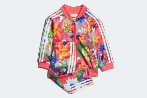 Floral Children's Tracksuits