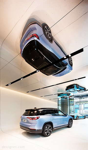 Unconventional Electric Car Showrooms