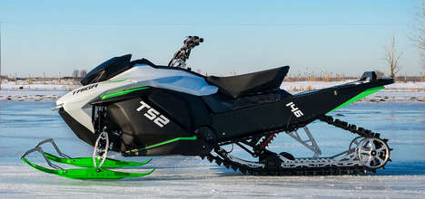 First Production Electric Snowmobiles