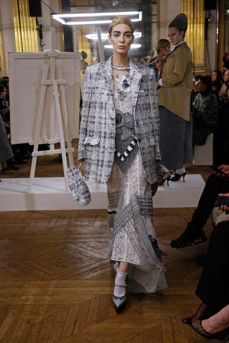 Rococo Fashion Silhouettes