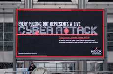 Real-Time Cyber Attack Billboards