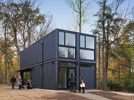 Mb Architecture Created a Shipping Container Structure for a College