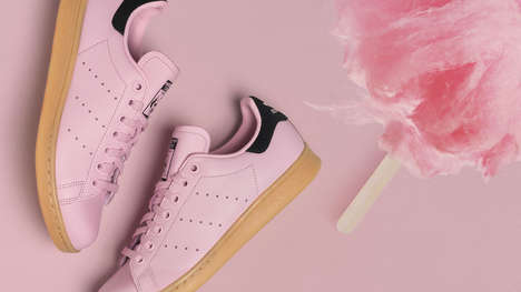 Adorable Cotton Candy Shoes
