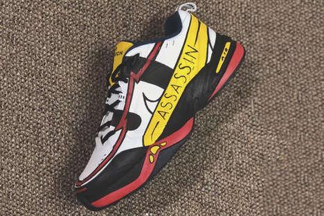Custom Cartoon Sneakers