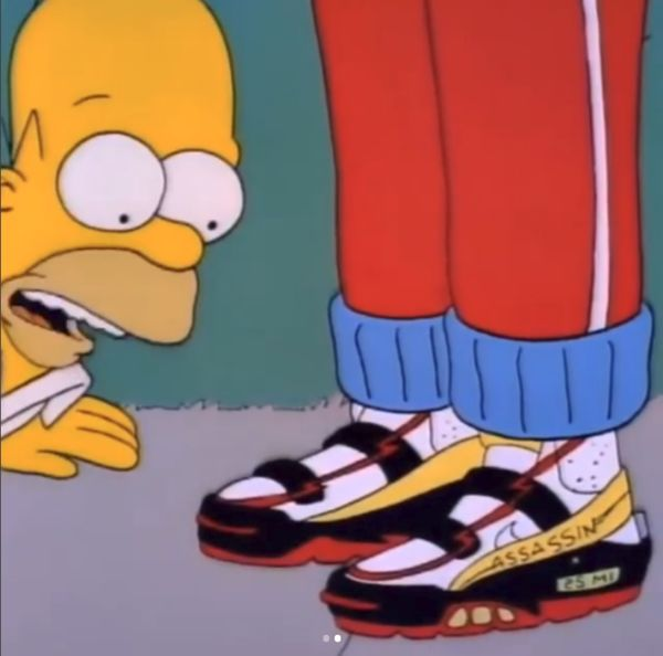 Custom Cartoon Sneakers Cartoon Sneakers