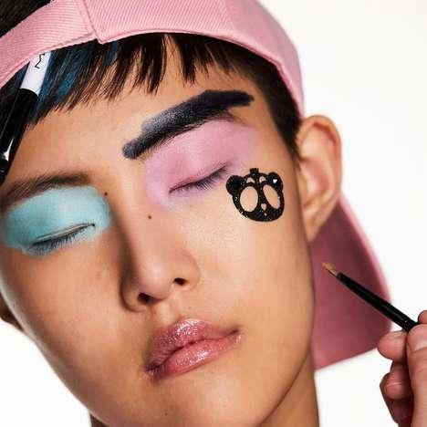 Panda-Stamped Makeup Collaborations