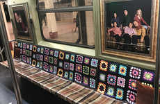Nostalgic Television-Themed Subway Cars