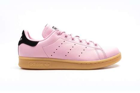 Cotton Candy-Inspired Sneakers - These Pink Clad Sneakers  Have Been Added to the Stan Smith Line