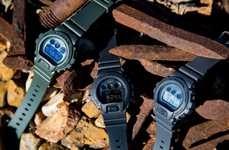 Military-Inspired Digital Timepieces