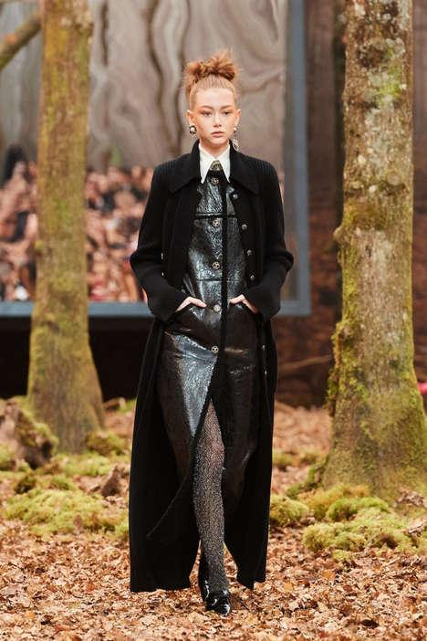 Forest-Themed Fashion Runways