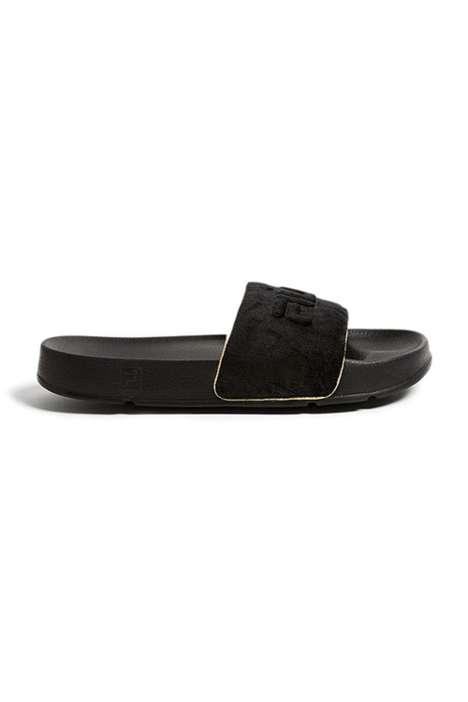 Comfortable Velour Sandals
