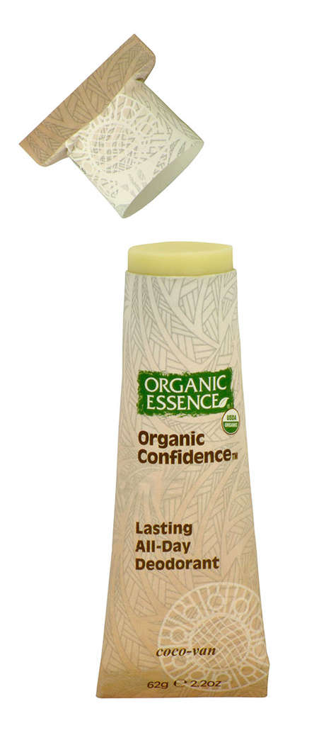 Organic Essence Packages Its Products in Renewable Paper Materials