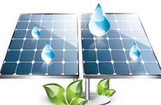 Rain-Powered Solar Panels