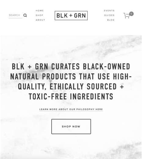 Black-Owned Beauty E-Shops