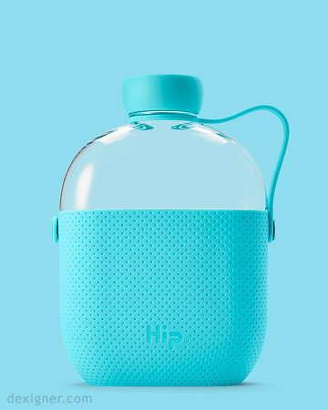 Flask-Shaped Water Bottles