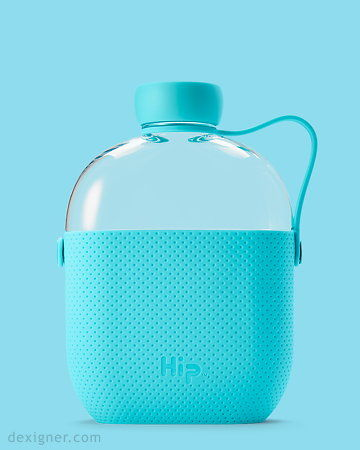 Flask-Shaped Water Bottles