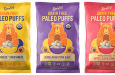 Paleo Snack Puffs - LesserEvil's Grain-Free Paleo Puffs Champion Simple Ingredients