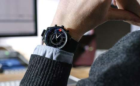 Discreetly Connected Timepieces