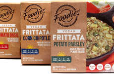 Frozen Vegan Frittatas - Five Star Foodies is Reimagining an Egg-Based Dish in a Plant-Based Format