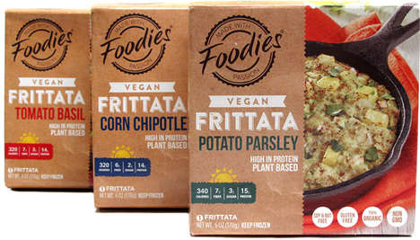 Frozen Vegan Frittatas