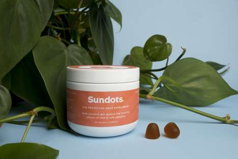 Sun-Protection Gummies - 'Sundots' Prevent Sun Damage Using a Fern Extract