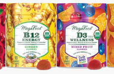 Nutrient-Rich Gummy Candies - The MegaFood Vitamin Gummies Come in Four Flavor Options