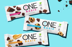 Low-Sugar Protein Snacks - The ONE Basix Bars are Free of Artificial Preservatives and Flavors