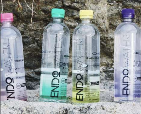 Herbal Enhanced Beverages - Right On Brands' Naturally Flavored Endo Water Features Bioavailable CBD