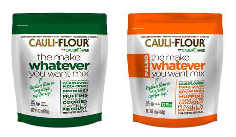 Cauliflower-Based Baking Mixes