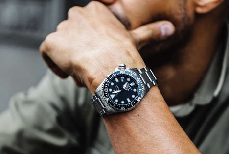 Power-Reserving Men's Watches