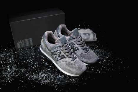 Crystal-Encrusted Sneakers