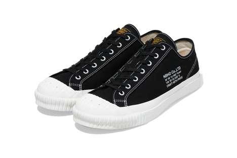 Lightweight Canvas Sneakers