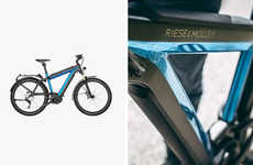 Long-Lasting E-Bikes - The Supercharger by Riese & Muller is Equipped with Two Powerful Batteries