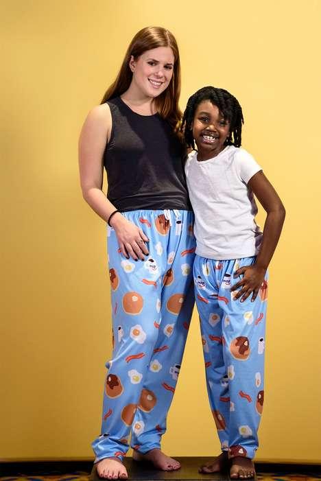 Charitable Pancake Pajamas