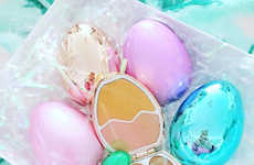 Egg-Shaped Makeup Palettes - I Heart Revolution Launched a Collectible Makeup Set for Easter
