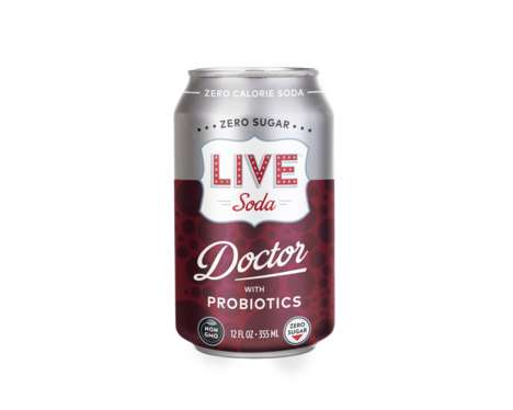 Canned Probiotic Sodas