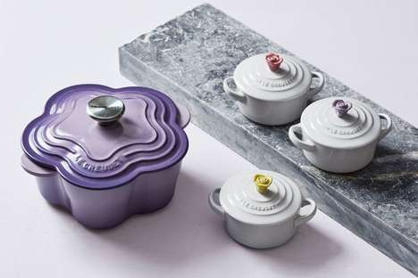 Floral Cookware Collections