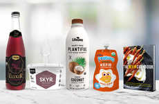 Plant-Based Probiotic Drinks - Lifeway Foods' Plantiful Features Live Active Vegan Kefir Cultures
