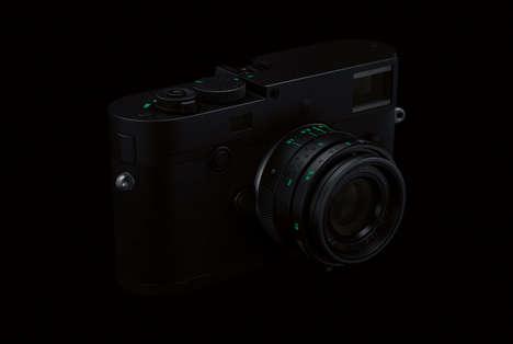 All-Black Rangefinder Cameras