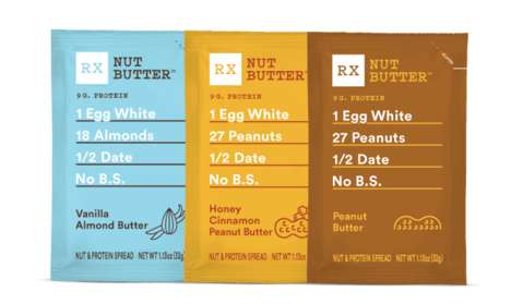 Single-Serve Nut Butter Pouches - RXBar is Launching Its First-Ever Range of Nut Butter Snacks