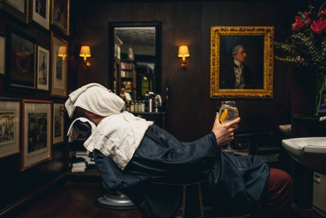 Boozy Barbershop Pop-Ups