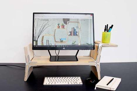 Handcrafted Desktop Technology Furniture