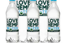 CBD-Infused Bottled Waters - Love Hemp Water Offers a New Way to Enjoy Cannabis