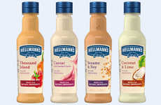Alternative Ingredient Dressings - Hellmann's Salad Dressings Unveiled New Flavors in the UK