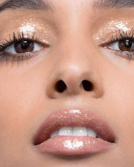 Versatile Glittery Face Glosses