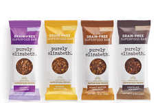 Grain-Free Superfood Bars - Purely Elizabeth Launched Paleo-Friendly Snack Bars with Reishi Mushroom