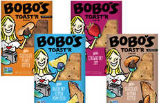 Gluten-Free Toaster Pastries - Bobo's Toast'r Has an Oat Crust and a Filling of Jam or Nut Butter