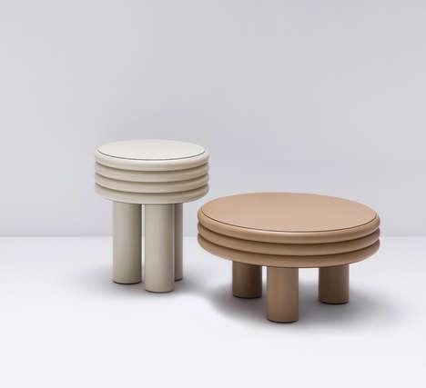 Milan-Inspired Leather Furniture